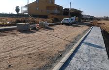Preixana urbanitza la travessia Verge de Montalbà