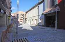 Ultimen les obres de reforma del carrer Ciutat de Lleida