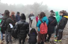 Uns 50 docents visiten el Camp d'Aprenentatge de Tremp