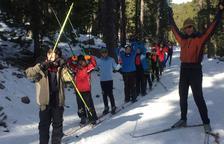 L'esquí obligatori arriba ja a tots els col·legis públics del Pirineu de Lleida