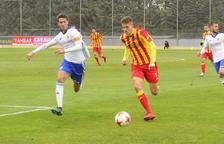 El Lleida remonta y gana 1-2 al Deportivo Aragón