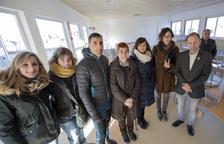 El colegio Ramon Estadella de Guissona se queda sin patio