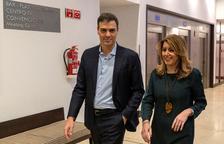 Sánchez firma la paz con Díaz y dice que 'remamos en la misma dirección'