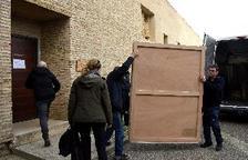 La jutgessa paralitza el trasllat dels frescos de Sixena del MNAC davant del risc de deteriorament