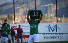 El Mequinensa dedica la victòria a Francesc Peralta