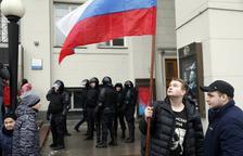 La policia russa deté el líder de l'oposició a Putin