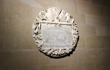 Les Avellanes restaura una placa de principios del XIX
