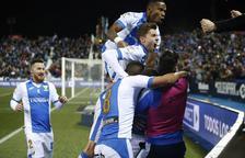 El Leganés empata amb el Sevilla i manté viu el somni de la final
