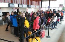 Alguaire rep els seus primers 176 viatgers suecs