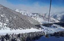 El Pirineo, con un 50% más de nieve que el último lustro y récord en el Solsonès