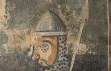 Restauren art mural romànic al Museu de Solsona