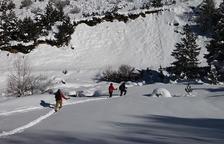 La Vall de Boí graba un vídeo turístico de invierno