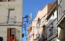 Obras para cambiar el cableado eléctrico en el Castell en Linyola