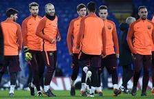 El Barça, a examen en Londres
