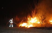 Un incendio forestal quema 12,5 hectáreas en la Noguera