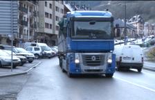 La restricción a los camiones en Francia se alargará hasta marzo