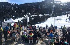 Degustación de caracoles a 2.200 metros de altitud en Espot Esquí