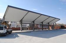 Mollerussa estrena el lunes la estación de autobuses y el nuevo paso soterrado
