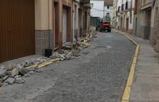 Obras de mejora en el entorno de la iglesia de la capital