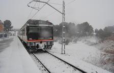 Avaries a la línia de tren de Manresa i l'AVE redueix la velocitat