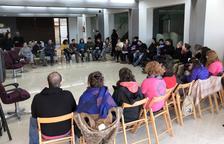 Protesta ante la planta de Tracjusa en Juneda