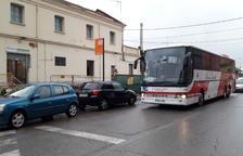 L'estació de Mollerussa, que estrenen 400 viatgers, retira 57 busos diaris del centre