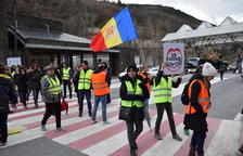 Escassa incidència el segon dia de vaga a Andorra a la Farga de Moles