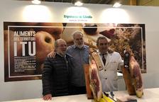 Degustaciones de jamón ibérico catalán y productos ecológicos