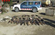 Decenas de pescadores abren la temporada en Lleida pese al frío