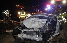 Muere una conductora en otra colisión en la N-240 en Les Borges