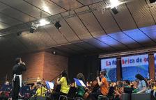 Unos 400 alumnos en el Cantem a Bellvís