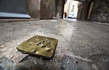 Destruyen la piedra contra el exterminio nazi de Sanaüja