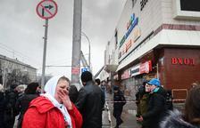 Almenys 64 morts a l'incendiar-se un cine en un centre comercial de Sibèria