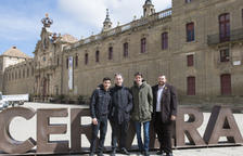 Los hermanos Màrquez promocionan en la Segarra el sector turístico de Lleida