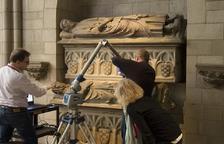 La digitalització dels sepulcres d'Urgell a Nova York estarà a punt el mes d'abril