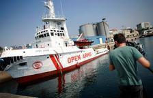 """Open Arms acusa Itàlia de """"devolucions en calent"""""""