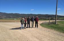 Los cazadores de Peramola financian la mejora de 8 kilómetros de caminos