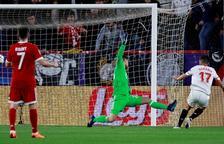 El Sevilla marca primero pero el Bayern remonta en la segunda mitad