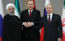 Rusia, Turquía e Irán prometen luchar juntos contra el EI en Siria