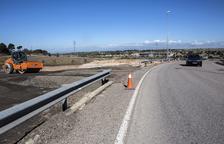 Nuevo acceso a Cervera desde la antigua carretera de Guissona