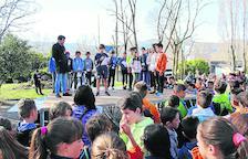 Més de 300 escolars celebren el Dia de l'Activitat Física a la Seu d'Urgell