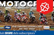Campionat d'Espanya de Motocròs 2018