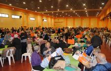 Més de 700 puntaires en una trobada a Mollerussa