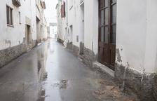 Una colisión de un turismo causa un escape de gas en Anglesola