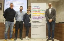 Presentan los 'camps de treball' de 2018 en Lleida
