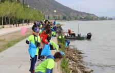 Retiren més de 300 quilos de residus a Mequinensa