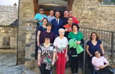 Bossòst aporta 1.000 € a la asociación de discapacitados de Aran