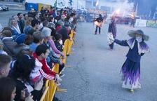 Agramunt celebra el primer encuentro de 'colles de diables' de Ponent