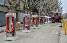 Habilitan diez puntos para la carga de vehículos eléctricos