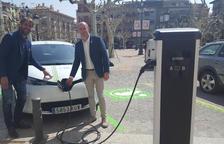 Cargadores de vehículos eléctricos en la capital